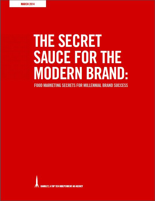 The Secret Sauce For The Modern Brand