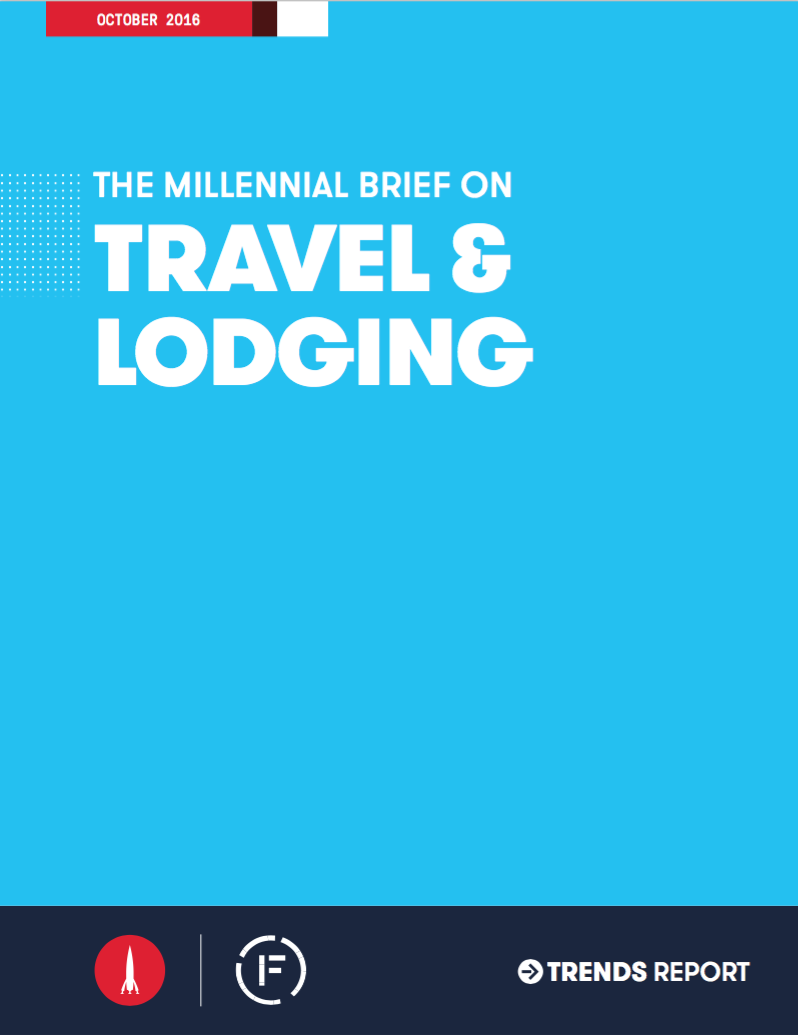 Millennial Brief on Travel and Lodging